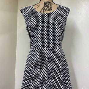 Candies Black & White Short Dress Juniors XL